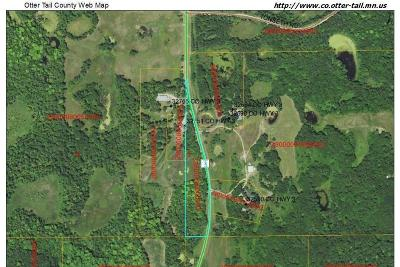 Pelican Rapids Residential Lots & Land For Sale: 326xx County Highway 3 --