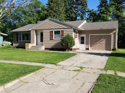 Ada Single Family Home For Sale: 407 1st Avenue E