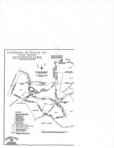 Residential Lots & Land For Sale: Xxx Tbd Little Itasca Road