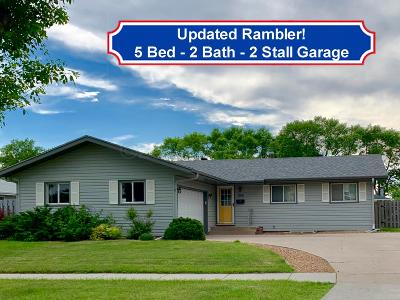 Fargo, Moorhead Single Family Home For Sale: 3106 Broadway -- N