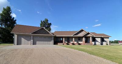 Enderlin Single Family Home For Sale: 5242 142 Avenue SE
