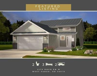 West Fargo Single Family Home For Sale: 2170 Dock Drive W