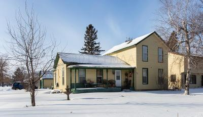 Ada Single Family Home For Sale: 401 3rd Street W