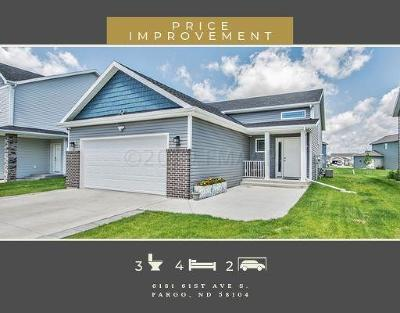 Fargo Single Family Home For Sale: 6181 61 Avenue S