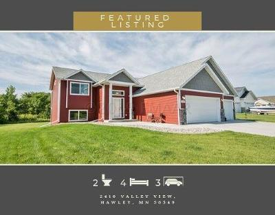 Hawley Single Family Home For Sale: 2410 Valley View