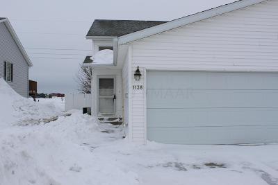 West Fargo Single Family Home For Sale: 1138 38 1/2 Avenue W