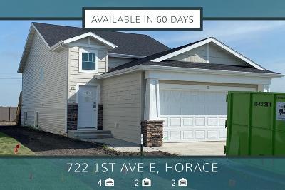 Horace Single Family Home For Sale: 722 1 Avenue E
