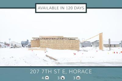Horace Single Family Home For Sale: 207 7 Street E