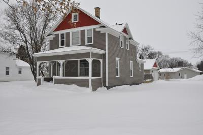 Barnesville MN Single Family Home For Sale: $165,000