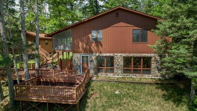 Single Family Home For Sale: 47023 Black Bear Beach Road