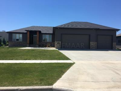 West Fargo Single Family Home For Sale: 691 20 1/2 Avenue E
