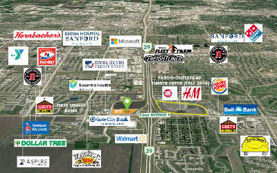 Fargo Commercial For Sale: I-29 S 52nd Ave