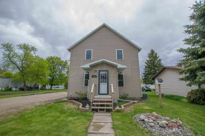 Argyle Single Family Home For Sale: 208 3rd St W
