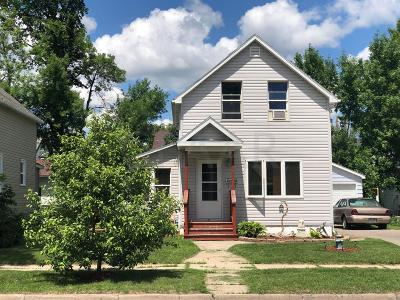 Crookston Single Family Home For Sale: 317 Hurlbut Street