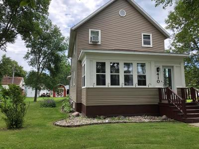 Hallock Single Family Home For Sale: 410 Elm Avenue S