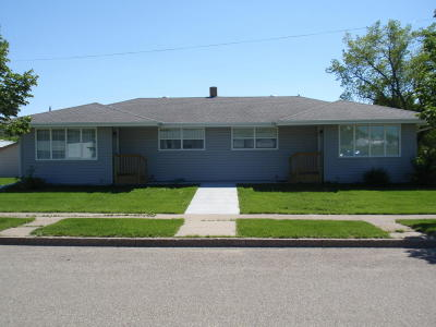 Valley City Multi Family Home For Sale: 553 11th Ave SW