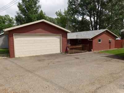 Sibley ND Single Family Home For Sale: $219,900