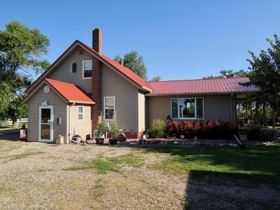 Barnes County Farmstead For Sale: 12709 45th Street SE