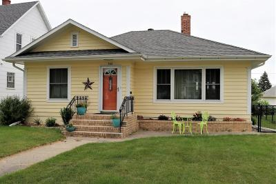 Valley City Single Family Home For Sale: 866 Central Avenue N