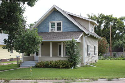 Jamestown Single Family Home For Sale: 731 1st Street W