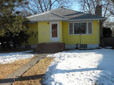 Jamestown ND Single Family Home For Sale: $126,000