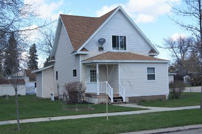 Ellendale Single Family Home For Sale: 321 1st Street S