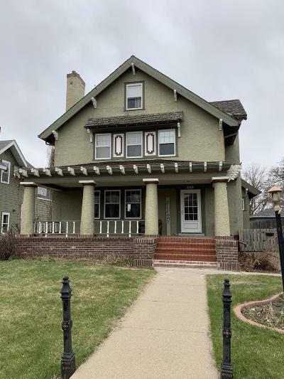 Jamestown Single Family Home For Sale: 509 2nd Avenue NE