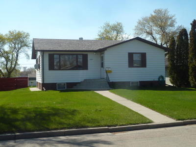 Jamestown ND Single Family Home For Sale: $153,500