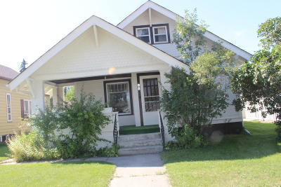 Jamestown ND Single Family Home For Sale: $59,000