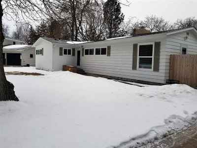 Minot ND Single Family Home For Sale: $215,000