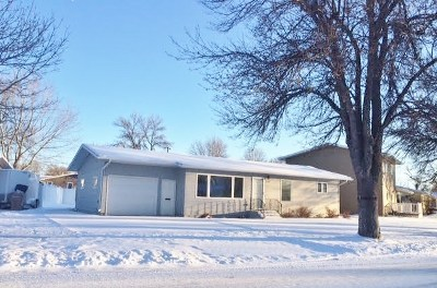 Bottineau County, Burke County, Divide County, McHenry County, McLean County, Mountrail County, Pierce County, Ramsey County, Renville County, Rolette County, Ward County, Wells County, Williams County Single Family Home For Sale: 107 22nd St. SW