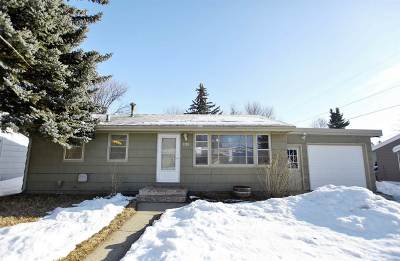 minot Single Family Home For Sale: 1308 Valley View Dr.