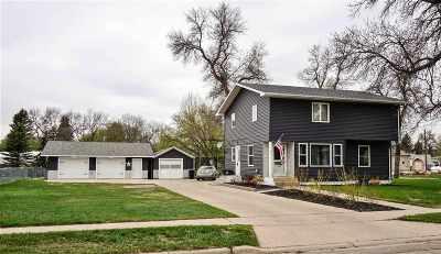 Velva Single Family Home For Sale: 409 4th Street W