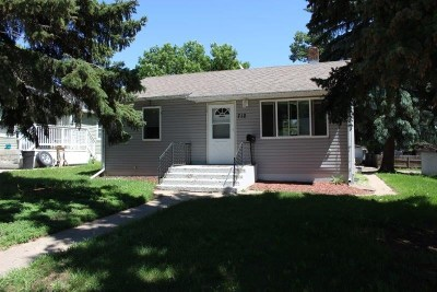 minot Single Family Home For Sale: 712 19th St NW