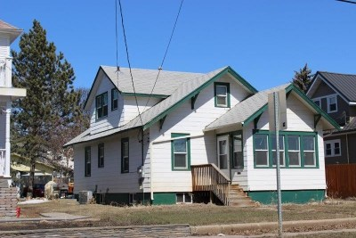 minot Single Family Home For Sale: 830 University Ave W