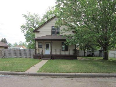Velva Single Family Home For Sale: 303 3rd Ave W