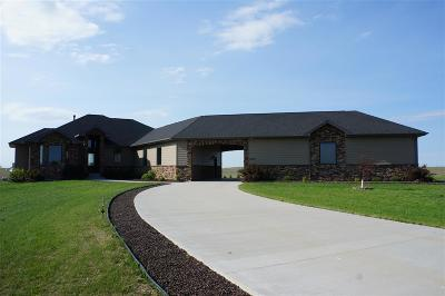 minot Single Family Home For Sale: 3600 Beaver Creek Road