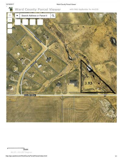 Bottineau County, Burke County, Divide County, McHenry County, McLean County, Mountrail County, Pierce County, Ramsey County, Renville County, Rolette County, Ward County, Wells County, Williams County Residential Lots & Land For Sale: 2109 NE 30th Ave