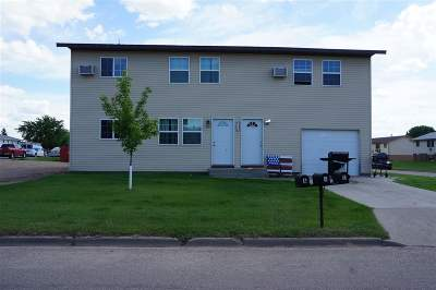 Bottineau County, Burke County, Divide County, McHenry County, McLean County, Mountrail County, Pierce County, Ramsey County, Renville County, Rolette County, Ward County, Wells County, Williams County Multi Family Home For Sale: 500 18th Ave SE