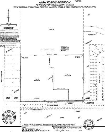 Minot Residential Lots & Land For Sale: 4650 16th Ave SE
