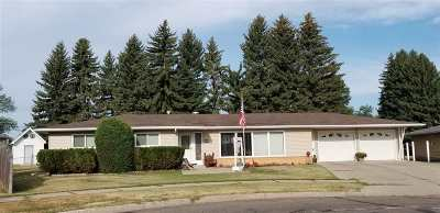 Minot Single Family Home Contingent - Hi: 1826 8th St SW