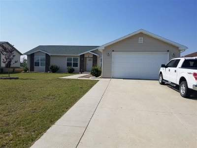Bottineau County, Burke County, Divide County, McHenry County, McLean County, Mountrail County, Pierce County, Ramsey County, Renville County, Rolette County, Ward County, Wells County, Williams County Single Family Home For Sale: 10 Adeline Drive
