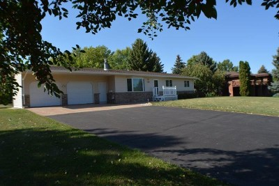 minot Single Family Home For Sale: 2516 Brookside Drive SW
