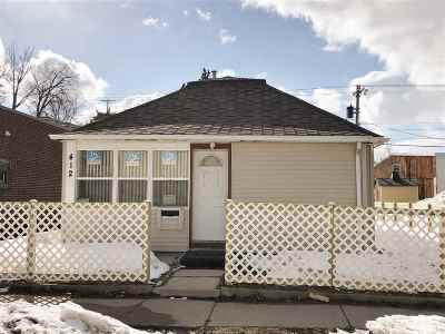 minot Single Family Home For Sale: 412 3rd St SW