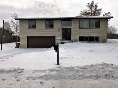 minot Single Family Home For Sale: 1217 Valley View Drive