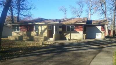 minot Single Family Home For Sale: 210 Souris Drive SE