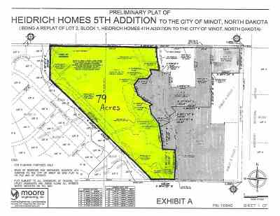Minot Residential Lots & Land For Sale: NE 30th Ave