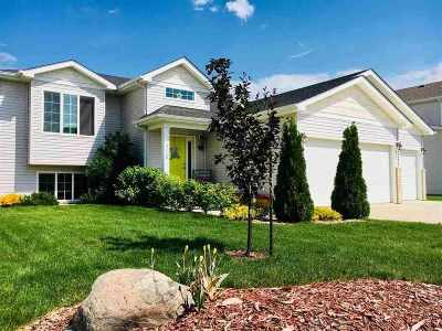 Bottineau County, Burke County, Divide County, McHenry County, McLean County, Mountrail County, Pierce County, Ramsey County, Renville County, Rolette County, Ward County, Wells County, Williams County Single Family Home For Sale: 3420 8th St NE