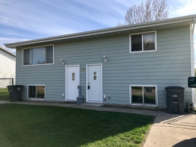 Bottineau County, Burke County, Divide County, McHenry County, McLean County, Mountrail County, Pierce County, Ramsey County, Renville County, Rolette County, Ward County, Wells County, Williams County Multi Family Home For Sale: 506 Parkway Drive