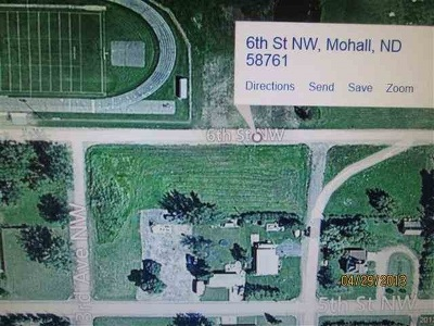 Bottineau County, Burke County, Divide County, McHenry County, McLean County, Mountrail County, Pierce County, Ramsey County, Renville County, Rolette County, Ward County, Wells County, Williams County Residential Lots & Land For Sale: NW